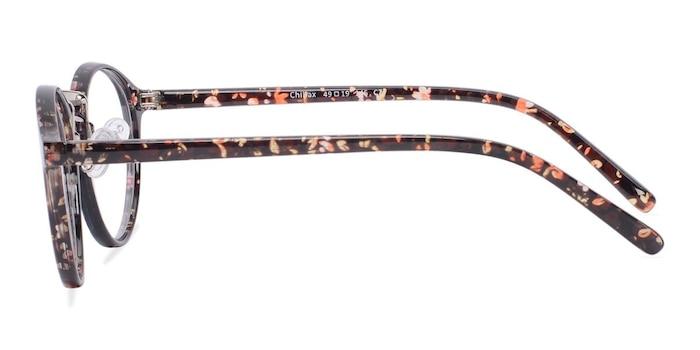 Chillax Red/Floral Plastique Montures de lunettes de vue d'EyeBuyDirect