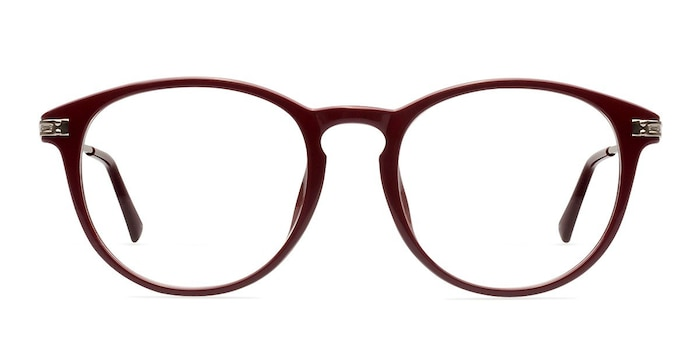 Muse Red Plastic-metal Eyeglass Frames from EyeBuyDirect