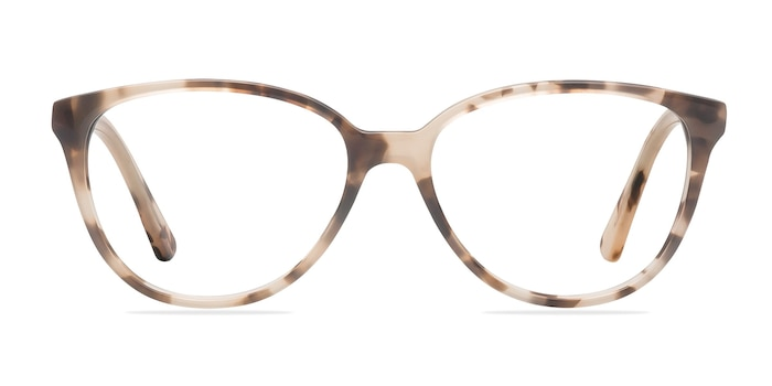 Hepburn Ivory/Tortoise Acetate Eyeglass Frames from EyeBuyDirect