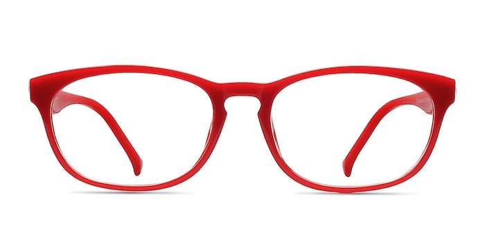 Drums  Red  Plastique Montures de Lunette de vue d'EyeBuyDirect