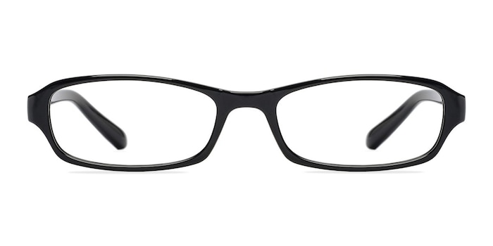 Adept  Black  Plastic Eyeglass Frames from EyeBuyDirect