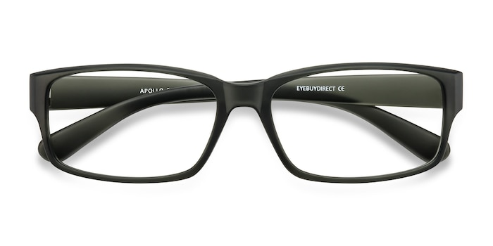 Matte Gray Apollo -  Lightweight Plastic Eyeglasses