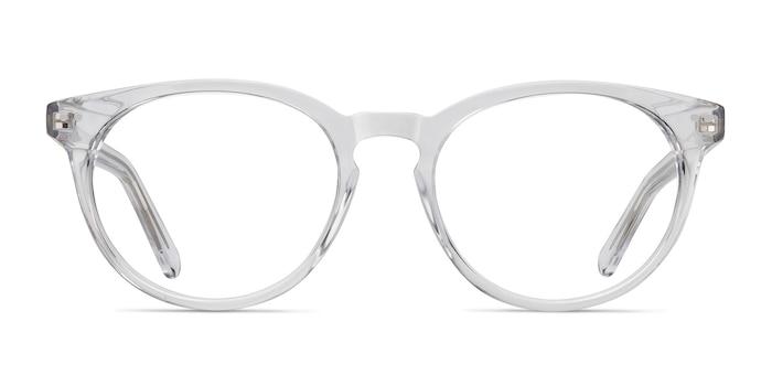 Morning Clear Acetate Eyeglass Frames from EyeBuyDirect