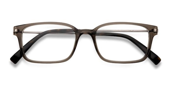 Clear/Gray Dreamer -  Designer Acetate Eyeglasses