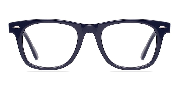 Blizzard Navy Acetate Eyeglass Frames from EyeBuyDirect