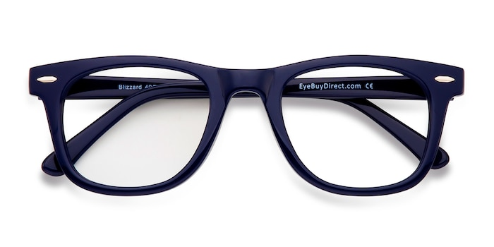 Navy Blizzard -  Fashion Acetate Eyeglasses