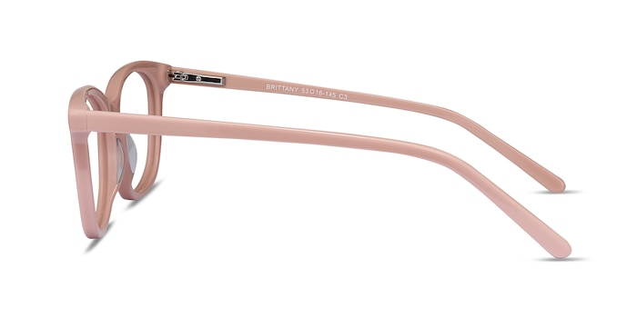 Brittany Pink Acetate Eyeglass Frames from EyeBuyDirect