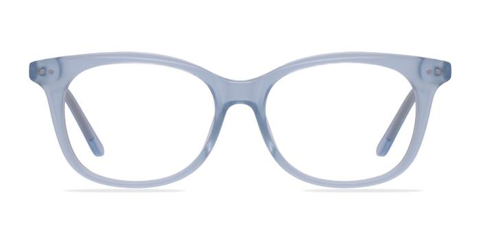 Brittany Clear Blue Acétate Montures de Lunette de vue d'EyeBuyDirect