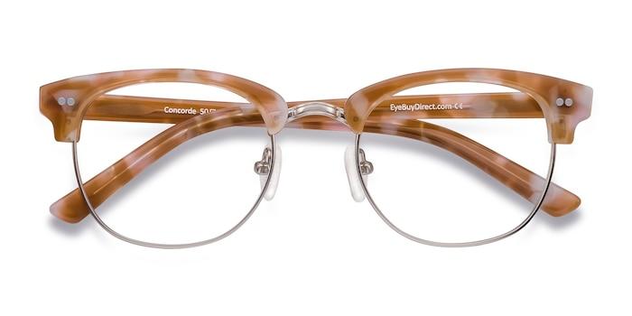 Brown/Silver Concorde -  Fashion Plastic Eyeglasses