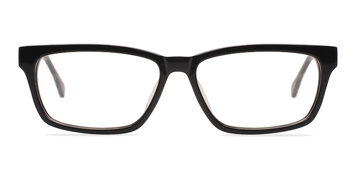 Seattle Black Acetate Eyeglass Frames from EyeBuyDirect