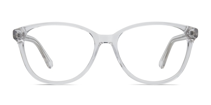 Hepburn Clear Acetate Eyeglass Frames from EyeBuyDirect