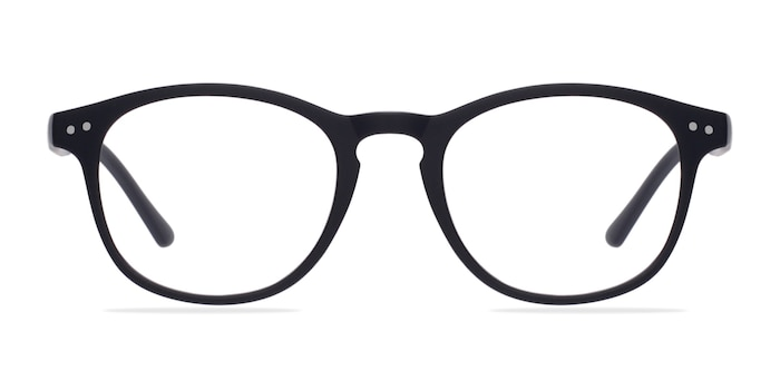Instant Crush Matte Navy Plastic Eyeglass Frames from EyeBuyDirect
