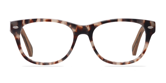Amber Ivory/Tortoise Acétate Montures de Lunette de vue d'EyeBuyDirect