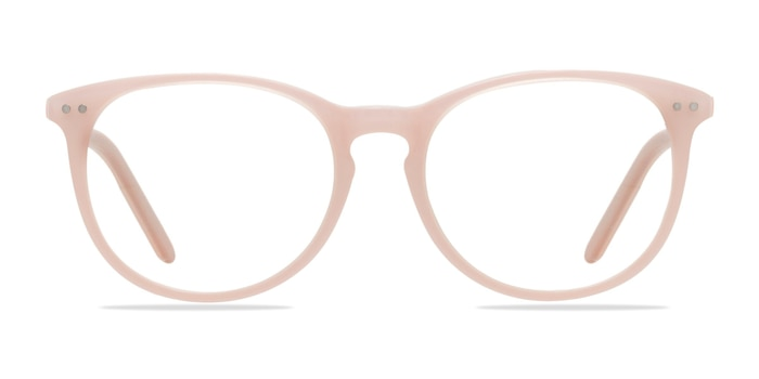 Fiction Pink Acetate Eyeglass Frames from EyeBuyDirect