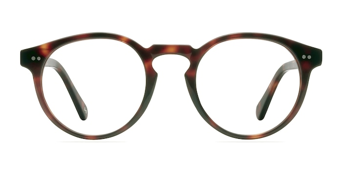 Theory Warm Tortoise Acetate Eyeglass Frames from EyeBuyDirect