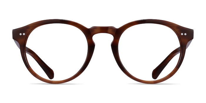 Theory Cognac Acetate Eyeglass Frames from EyeBuyDirect