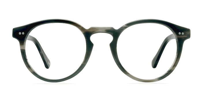 Theory Striped Granite Acetate Eyeglass Frames from EyeBuyDirect