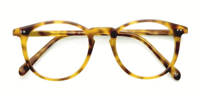 Blonde Tortoise Prism -  Designer Acetate Eyeglasses