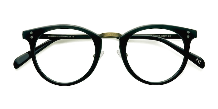 Charcoal Nostalgia -  Fashion Acetate Eyeglasses