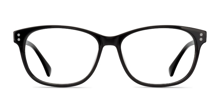 Delight Black Acetate Eyeglass Frames from EyeBuyDirect