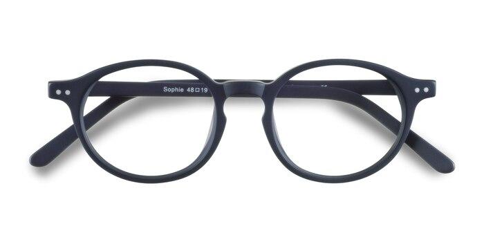 Navy  Sophie -  Vintage Acetate Eyeglasses
