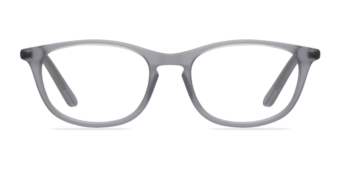 Valentin Clear/Gray Acetate Eyeglass Frames from EyeBuyDirect