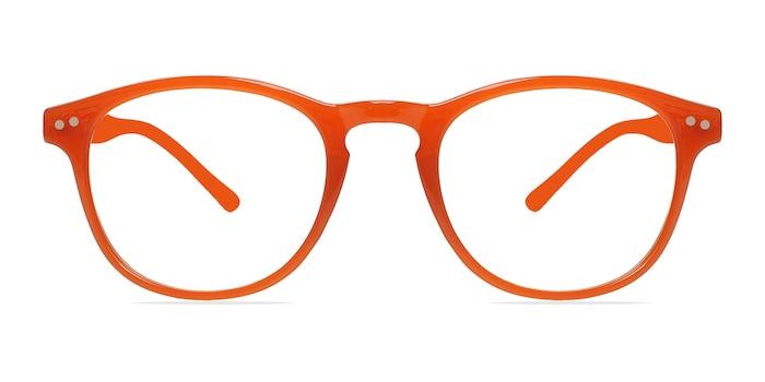 Instant Crush Orange Plastic Eyeglass Frames from EyeBuyDirect