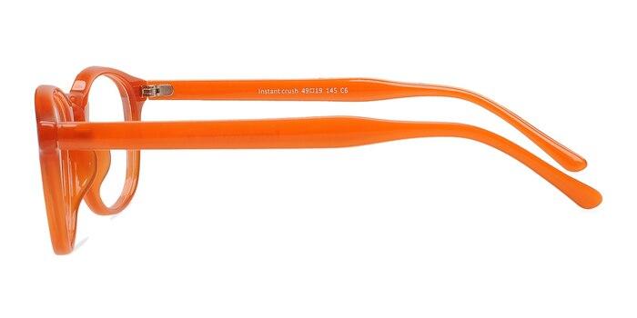 Instant Crush Orange Plastique Montures de Lunette de vue d'EyeBuyDirect