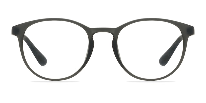 Muse Matte Gray Plastic Eyeglass Frames from EyeBuyDirect
