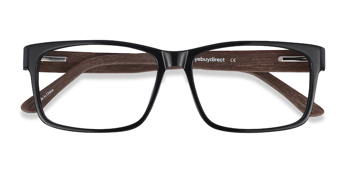 Black/brown Lexington -  Classic Acetate Eyeglasses