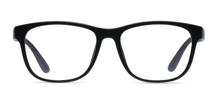 Milo Matte Black Plastic Eyeglass Frames from EyeBuyDirect