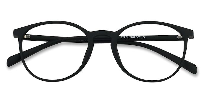Matte Black Dinah -  Lightweight Plastic Eyeglasses