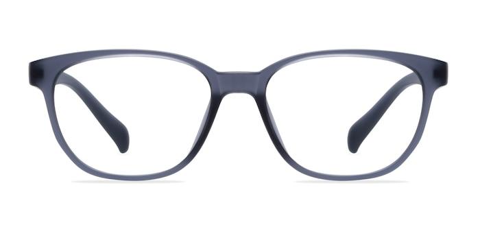 Moody Matte Gray Plastic Eyeglass Frames from EyeBuyDirect