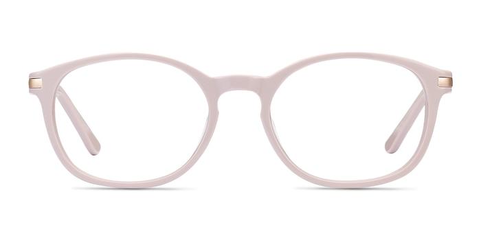New Bedford Faded Rose Acetate-metal Montures de Lunette de vue d'EyeBuyDirect