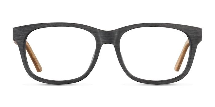 White Pine Black Acetate Eyeglass Frames from EyeBuyDirect