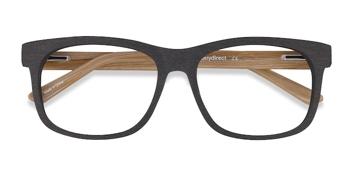 Black White Pine -  Acetate Eyeglasses