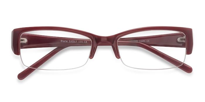Red  Diane -  Vintage Plastic Eyeglasses