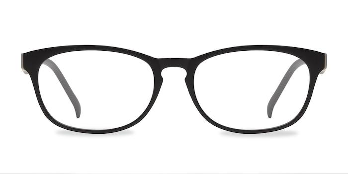 Drums Matte Black Plastic Eyeglass Frames from EyeBuyDirect
