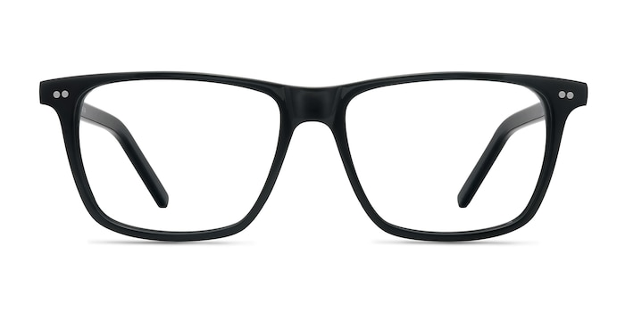 Default Black Acetate Eyeglass Frames from EyeBuyDirect