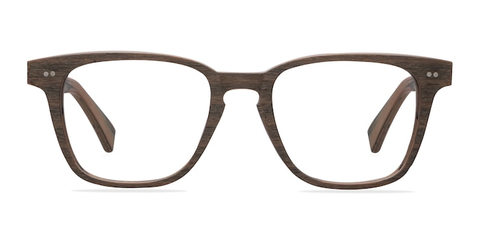 Samson  Brown Striped  Acetate Eyeglass Frames from EyeBuyDirect