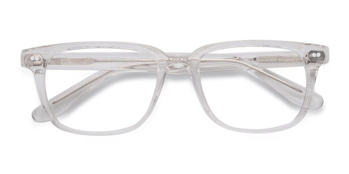 Clear Pacific -  Geek Acetate Eyeglasses