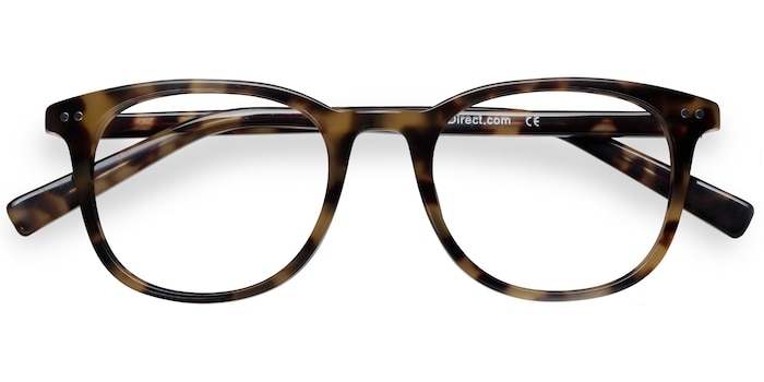 Tortoise  Demain -  Fashion Acetate Eyeglasses