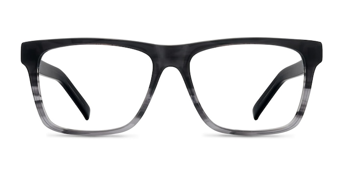 Pioneer Gray Acetate Eyeglass Frames from EyeBuyDirect