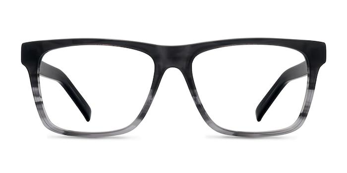 Pioneer Gray Acetate Eyeglass Frames from EyeBuyDirect