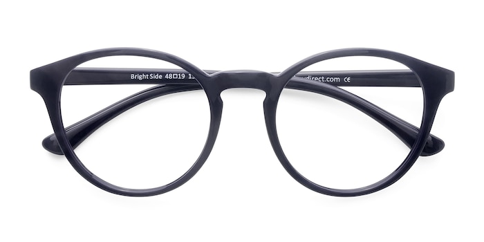 Navy Bright Side -  Classic Plastic Eyeglasses