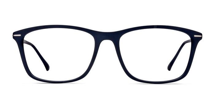 Thursday Navy Plastic Eyeglass Frames from EyeBuyDirect