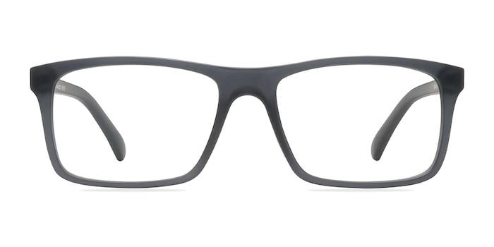 Persian Matte Gray Plastic Eyeglass Frames from EyeBuyDirect