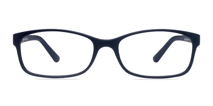 Beads Matte Navy Plastic Eyeglass Frames from EyeBuyDirect