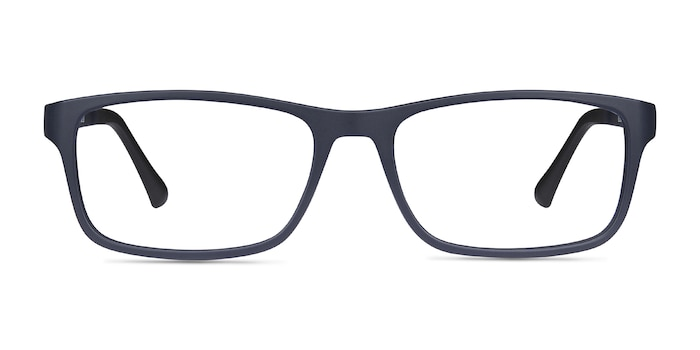 Firefly Matte Navy Plastic Eyeglass Frames from EyeBuyDirect