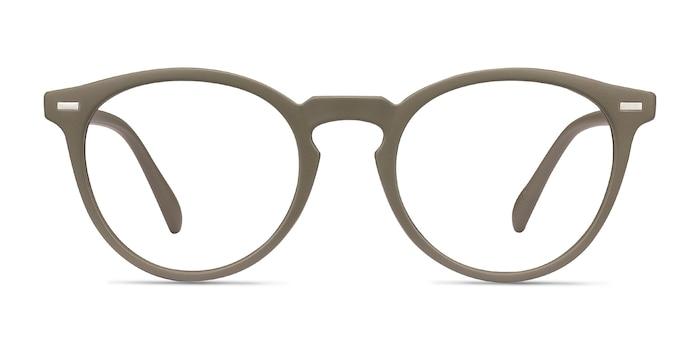 Peninsula Matte Green Plastic Eyeglass Frames from EyeBuyDirect